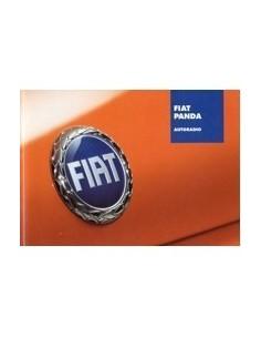 2003 FIAT PANDA AUTORADIO OWNERS MANUAL HANDBOOK DUTCH
