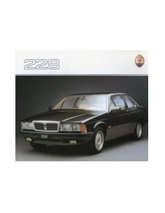 1988 MASERATI 228 BROCHURE GERMAN