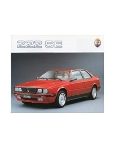 1990 MASERATI 222 SE BROCHURE