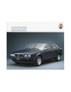1988 MASERATI 222 BROCHURE FRANS