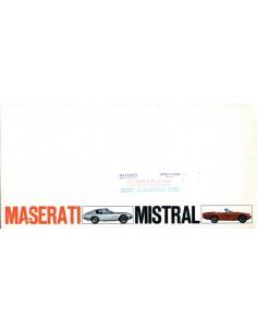 1968 MASERATI MISTRAL + SPIDER BROCHURE