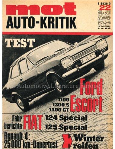1968 MOT MAGAZINE 22 GERMAN