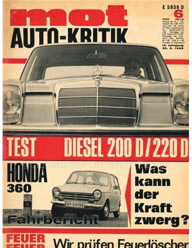1968 MOT MAGAZINE 6 GERMAN