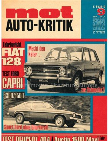 1969 MOT MAGAZINE 9 GERMAN