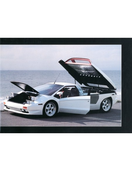 1990 CIZETA MORODOR V16T BROCHURE