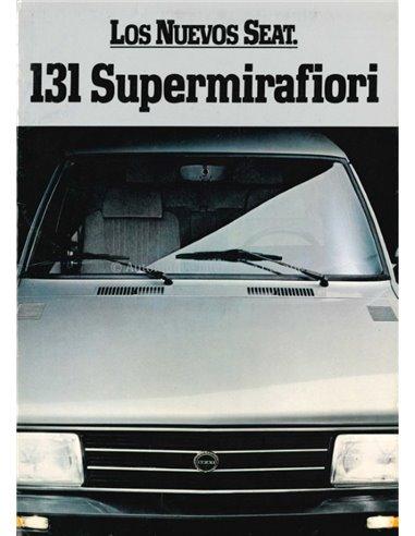 1981 SEAT 131 BROCHURE SPANISH