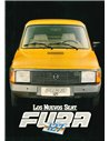 1981 SEAT FURA 127 PROSPEKT SPANISCH