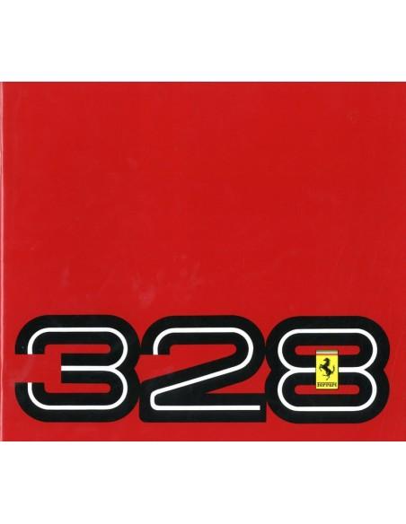 1988 FERRARI 328 GTB & GTS BROCHURE 394/85