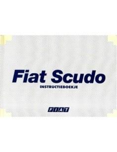 1998 FIAT SCUDO OWNERS MANUAL HANDBOOK DUTCH