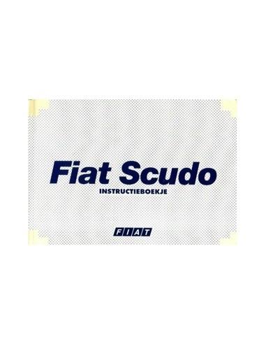 1998 FIAT SCUDO INSTRUCTIEBOEKJE NEDERLANDS