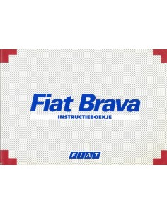 1997 FIAT BRAVA INSTRUCTIEBOEKJE NEDERLANDS