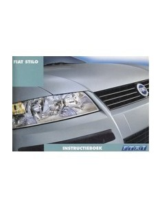 2001 FIAT STILO INSTRUCTIEBOEKJE NEDERLANDS