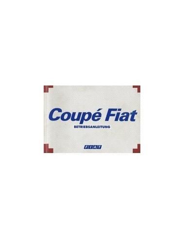 1994 FIAT COUPE INSTRUCTIEBOEKJE DUITS