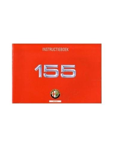 1994 ALFA ROMEO 155 INSTRUCTIEBOEKJE NEDERLANDS
