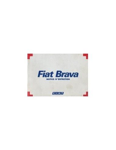 1997 FIAT BRAVA INSTRUCTIEBOEKJE FRANS