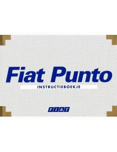 2000 FIAT PUNTO INSTRUCTIEBOEKJE NEDERLANDS