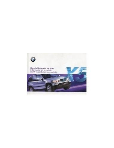 2000 BMW X5 INSTRUCTIEBOEKJE NEDERLANDS
