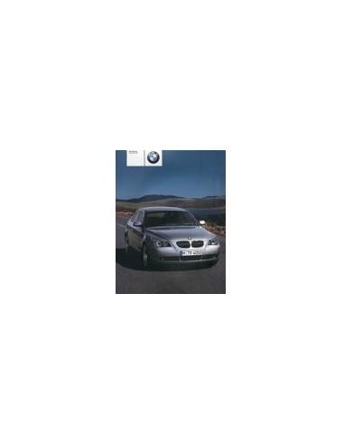 2003 BMW 5 SERIE INSTRUCTIEBOEKJE NEDERLANDS