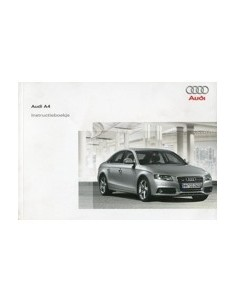 2008 AUDI A4 OWNERS MANUAL HANDBOOK DUTCH