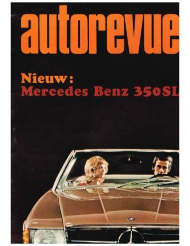 1971 AUTO REVUE MAGAZINE 9 DUTCH