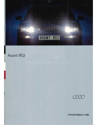 1994 AUDI RS2 AVANT BROCHURE GERMAN
