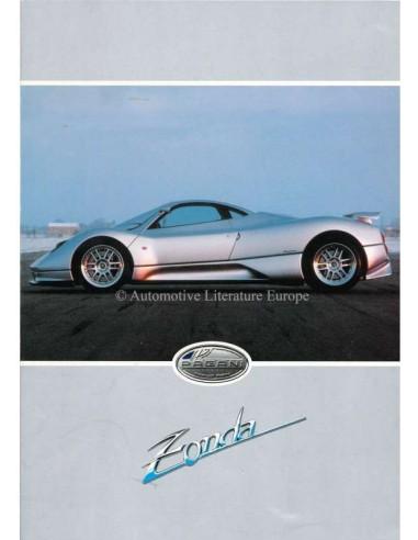 1999 PAGANI ZONDA C12 BROCHURE