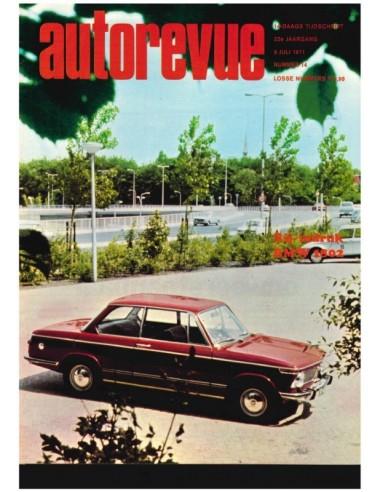 1971 AUTO REVUE MAGAZINE 14 DUTCH