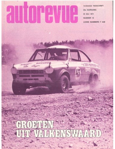 1971 AUTO REVUE MAGAZINE 15 DUTCH