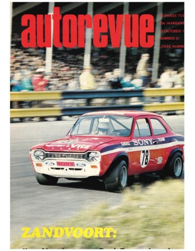 1971 AUTO REVUE MAGAZINE 21 DUTCH