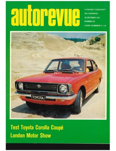 1971 AUTO REVUE MAGAZINE 22 DUTCH