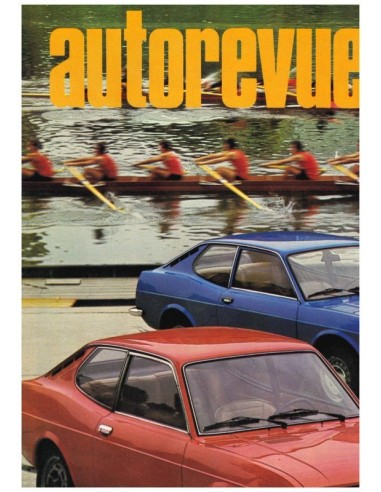 1971 AUTO REVUE MAGAZINE 23 DUTCH