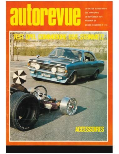 1971 AUTO REVUE MAGAZINE 24 DUTCH