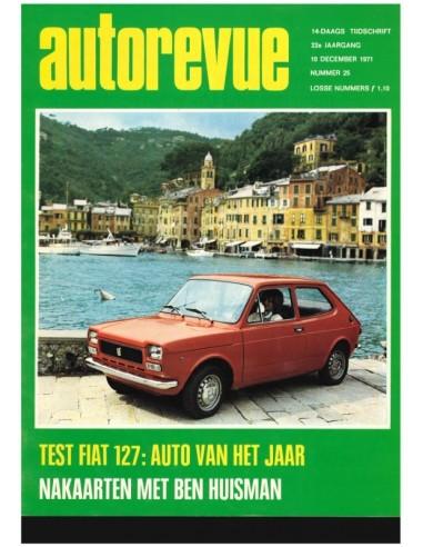 1971 AUTO REVUE MAGAZINE 25 DUTCH