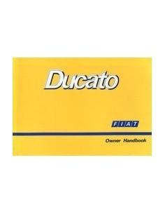 1990 FIAT DUCATO INSTRUCTIEBOEKJE ENGELS