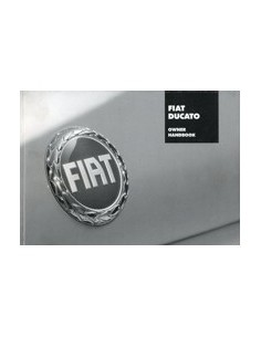 2005 FIAT DUCATO OWNERS MANUAL HANDBOOK ENGLISH