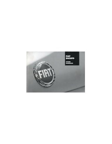 2005 FIAT DUCATO INSTRUCTIEBOEKJE ENGELS