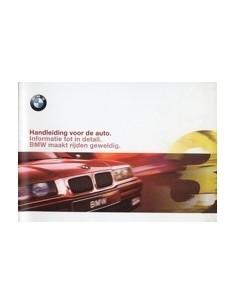 1997 BMW 3 SERIES OWNERS MANUAL HANDBOOK DUTCH