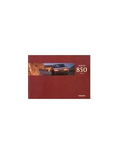 1996 VOLVO 850 INSTRUCTIEBOEKJE DUITS