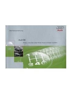1996 AUDI S6 OWNERS MANUAL HANDBOOK GERMAN