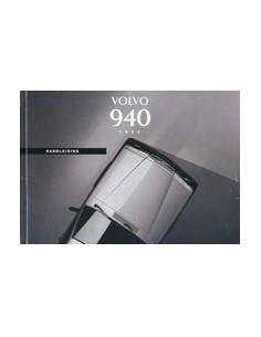1994 VOLVO 940 INSTRUCTIEBOEKJE NEDERLANDS