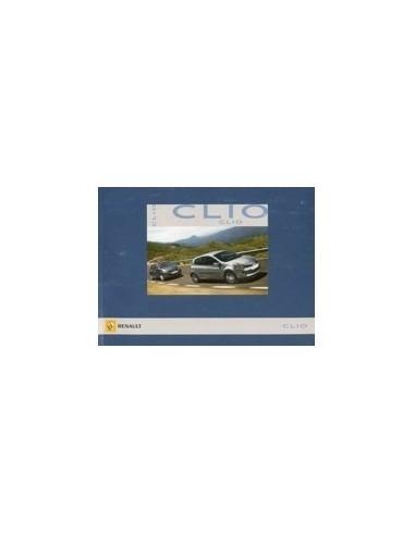 2007 RENAULT CLIO INSTRUCTIEBOEKJE FRANS