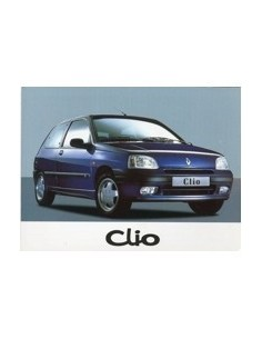 1997 RENAULT CLIO INSTRUCTIEBOEKJE NEDERLANDS