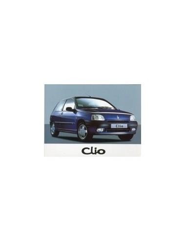 1997 RENAULT CLIO INSTRUCTIEBOEKJE NEDERLANDS