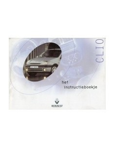 2000 RENAULT CLIO OWNERS MANUAL HANDBOOK DUTCH