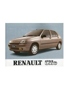 1993 RENAULT CLIO INSTRUCTIEBOEKJE DUITS