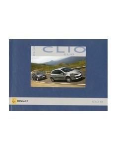 2006 RENAULT CLIO OWNERS MANUAL HANDBOOK DUTCH