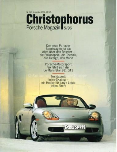 1996 PORSCHE CHRISTOPHORUS MAGAZINE 262 GERMAN