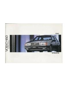 1990 VOLVO 460 INSTRUCTIEBOEKJE NEDERLANDS