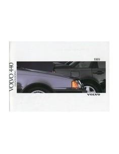 1989 VOLVO 440 INSTRUCTIEBOEKJE NEDERLANDS