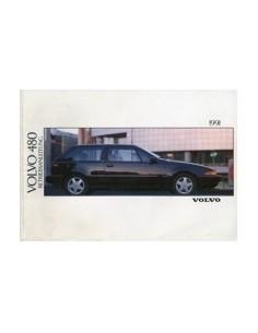 1991 VOLVO 480 INSTRUCTIEBOEKJE DUITS